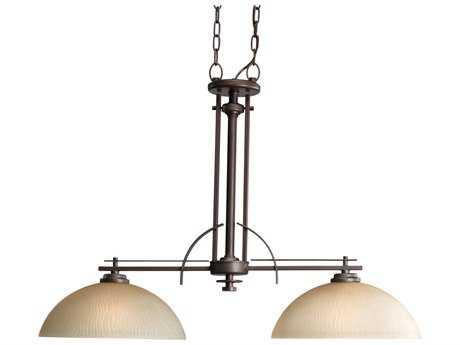 Progress Lighting Riverside Heirloom Two-Light Island Light