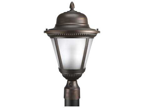 Progress Lighting Westport Antique Bronze Outdoor Post Light