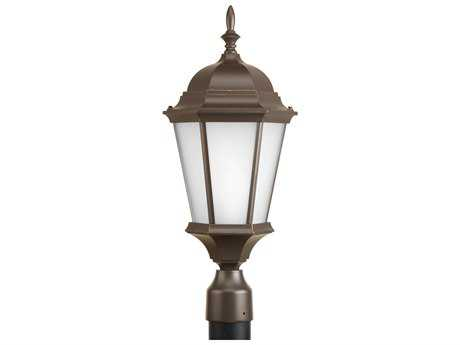 Progress Lighting Welbourne Antique Bronze Incandescent Outdoor Post Light