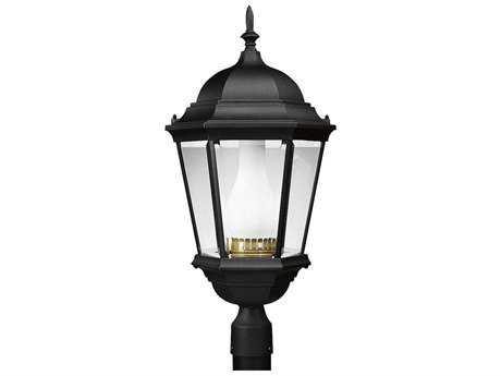 Progress Lighting Welbourne Textured Black Outdoor Post Light