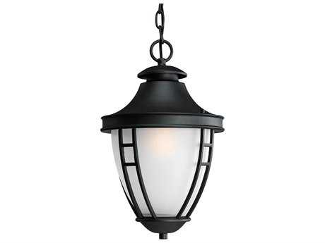 Progress Lighting Fairview Black Outdoor Pendant Light
