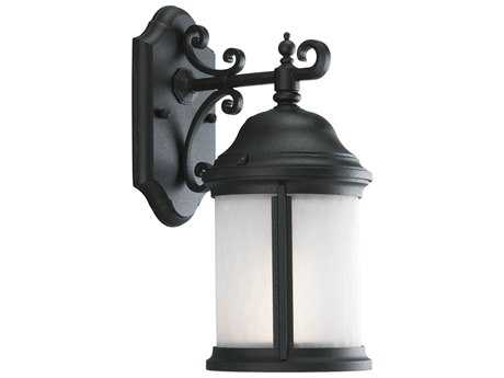 Progress Lighting Ashmore Black Small Outdoor Wall Light