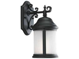 Progress Lighting Ashmore Black Small Outdoor Wall Light