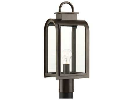 Progress Lighting Refuge Oil Rubbed Bronze Outdoor Post Light