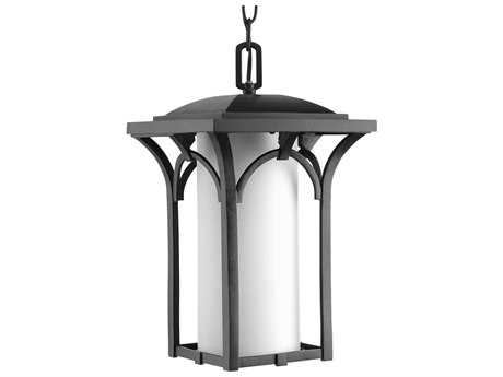Progress Lighting Promenade Black Outdoor Pendant Light