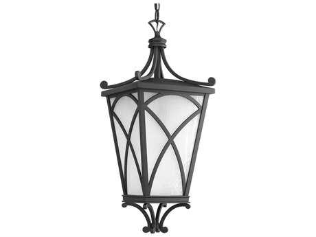 Progress Lighting Cadence Black Outdoor Pendant Light