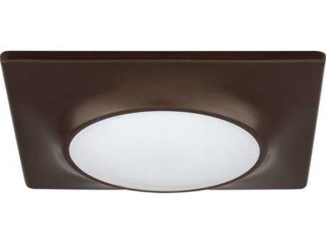 Progress Lighting Antique Bronze & Diffused Glass LED Flush Mount Light (Sold in 2)