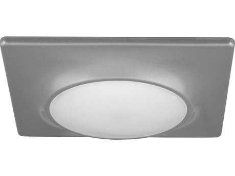 Progress Lighting Metallic Gray & Diffused Glass LED Flush Mount Light (Sold in 2)