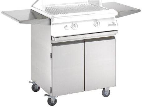 PGS Grills Legacy Stainless Steel Portable Cart for Newport Series Grills PGS27CART
