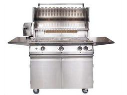Legacy Pacifica Gourmet 39'' On-Cart Propane BBQ Grill with Rear Burner and Rotisserie