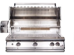 Legacy Pacifica Gourmet 39'' Natural Gas BBQ Grill with Rear Burner and Rotisserie