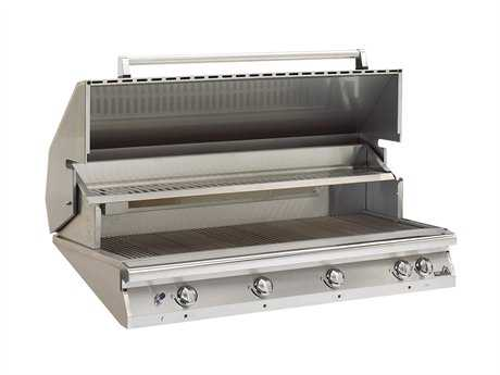 PGS Grills Legacy Big Sur Gourmet 51'' Propane BBQ Grill with Rear Burner and Rotisserie PGS48RLP
