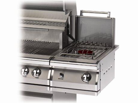 PGS Grills Legacy Stainless Steel LP Side Burner Kit For Portable Cart
