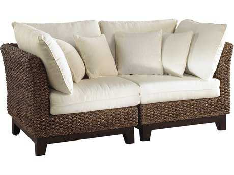 Panama Jack Sanibel Wicker Loveseat