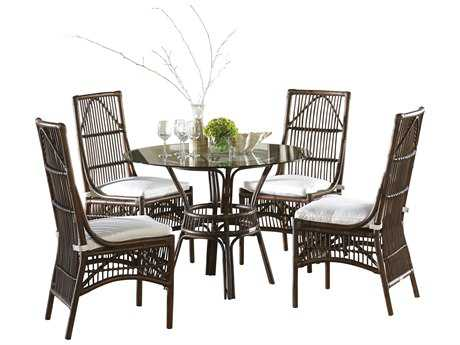 Panama Jack Bora Bora Wicker Dining Set