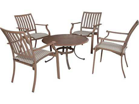 Panama Jack Island Breeze Aluminum Five Piece Set Gathering Set