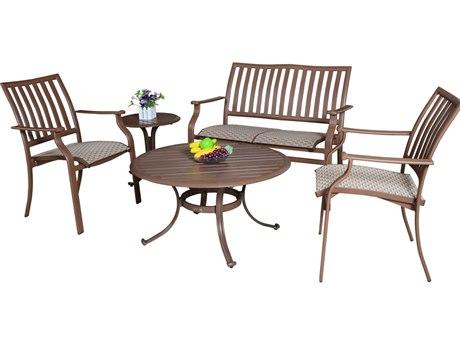 Panama Jack Island Breeze Aluminum Sling Lounge Set