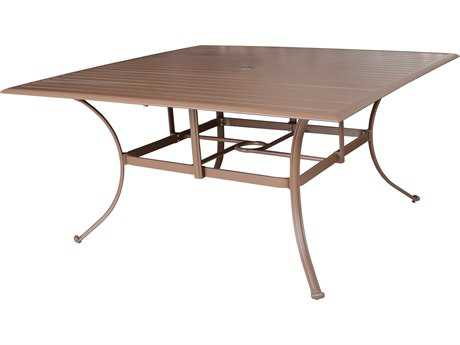 Panama Jack Island Breeze Aluminum 60 Square Dining Table