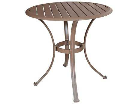 Panama Jack Island Breeze Aluminum 30 Round Bistro Dining Table PatioLiving