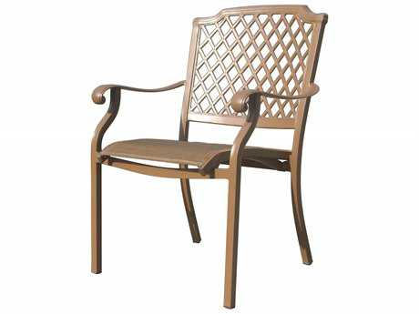 Panama Jack Island Breeze Cast Aluminum with Sling Armchair