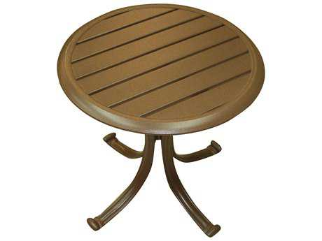 Panama Jack Island Breeze Aluminum 20 Round End Table PJPJO1001ESPET