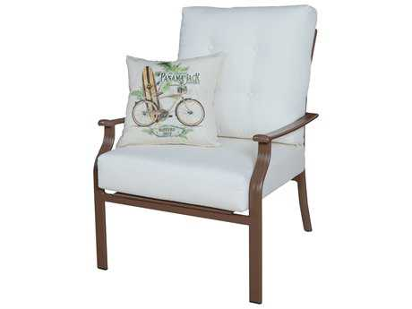 Panama Jack Island Breeze Aluminum Espresso Lounge Chair