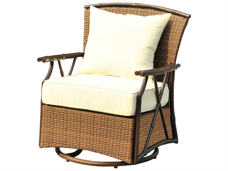 Panama Jack Rum Cay Ottomans Aluminum Swivel Lounge Chair Pjo 1201 Atq Sw
