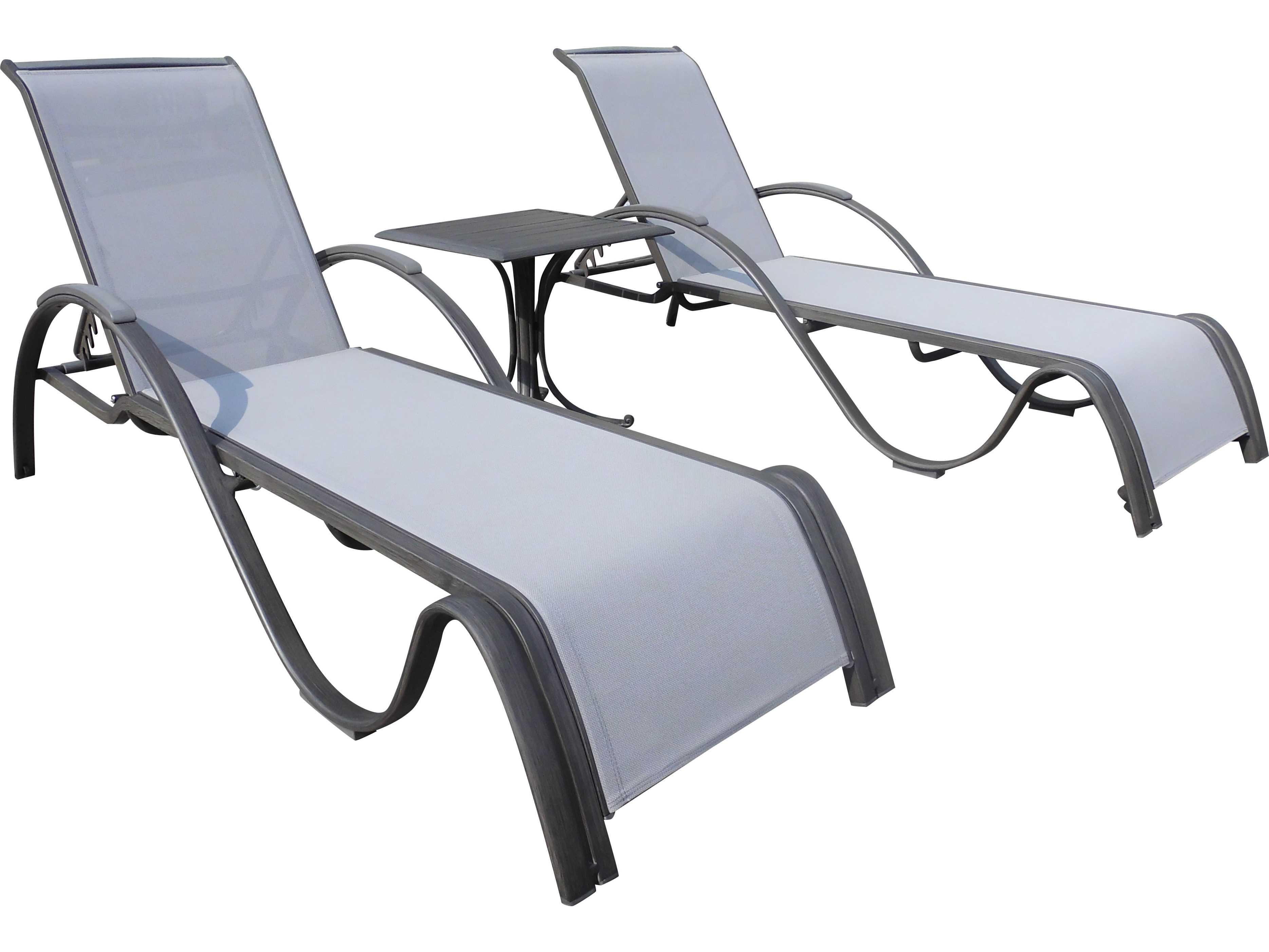 panama jack newport beach wicker 3 pc chaise lounge set. Black Bedroom Furniture Sets. Home Design Ideas