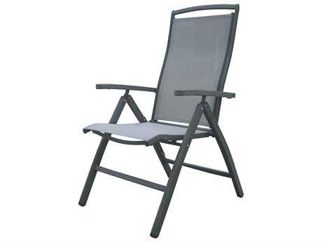Panama Jack Newport Beach Aluminum Multi-Position Folding Armchair