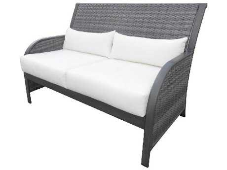 Panama Jack Newport Beach Wicker Loveseat
