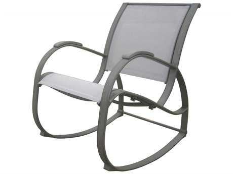 Panama Jack Newport Beach Aluminum Rocking Chair