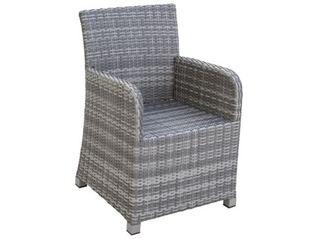 Panama Jack Bridgehampton Wicker Cushion Dining Chair
