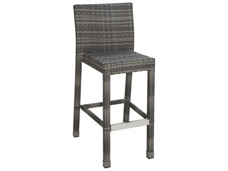 Panama Jack Bridgehampton Wicker Cushion Bar Stool
