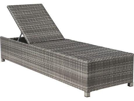 Panama Jack Bridgehampton Wicker Cushion Chaise Lounge