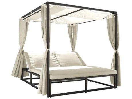 Panama Jack Bridgehampton Wicker Cushion Lounge Bed