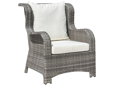 Panama Jack Bridgehampton Wicker Cushion Lounge Chair