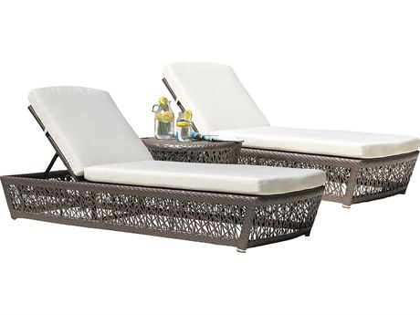 Panama Jack Maldives Wicker Cushion Lounge Set