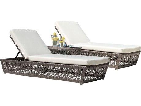 Panama Jack Maldives Wicker Cushion 3 Piece Lounge Set PatioLiving