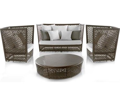 Panama Jack Maldives Wicker Cushion Lounge Set PatioLiving