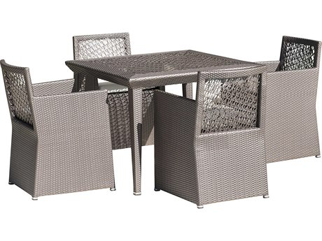 Panama Jack Maldives Wicker Dining Set