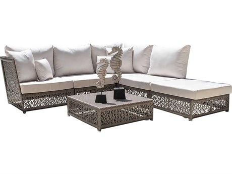 Panama Jack Maldives Wicker Cushion Lounge Set