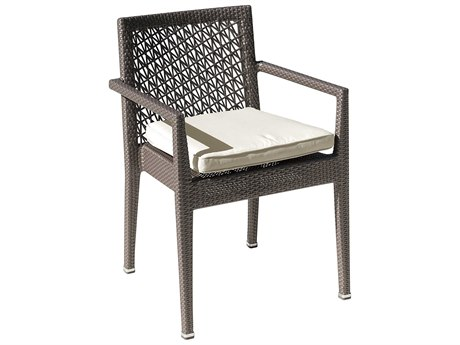 Panama Jack Maldives Wicker Cushion Dining Chair