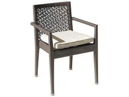 Maldives Wicker Cushion Dining Chair