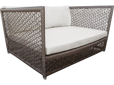 Panama Jack Maldives Wicker Cushion Lounge Bed