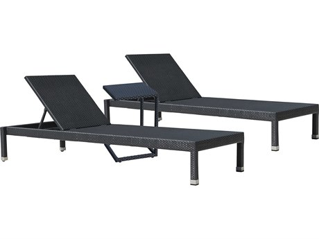Panama Jack Onyx Wicker Cushion Lounge Set