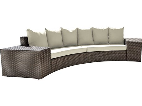 Panama Jack Big Sur Wicker Cushion Lounge Set PatioLiving