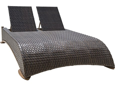 Panama Jack Big Sur Wicker Cushion Lounge Bed