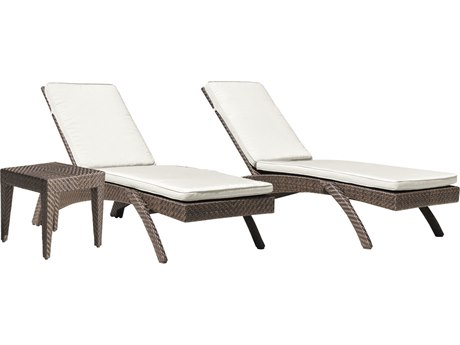 Panama Jack Oasis Wicker Cushion Lounge Set