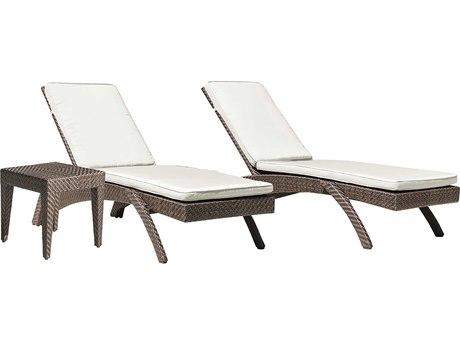 Panama Jack Oasis Wicker Pool Patio Lounge Set PatioLiving