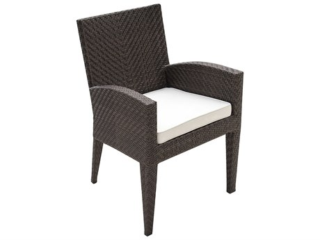 Panama Jack Oasis Wicker Cushion Dining Chair